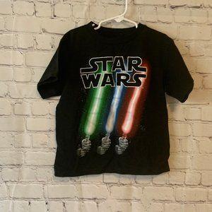 Star Wars Kids T Shirt Size 5/6